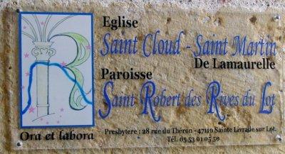 Nom de l'Eglise de Lamaurelle