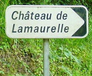 Panneau Château de Lamaurelle