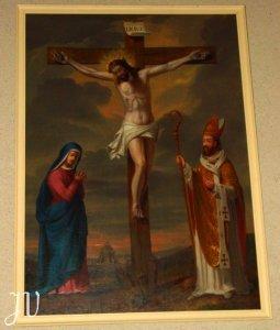 Le tableau de l'église St Orens