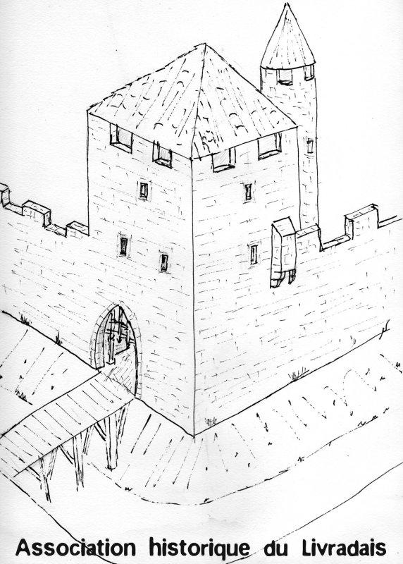Supposition de la porte de Dolmayrac