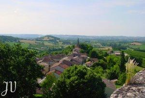 Le village vu de la Tour